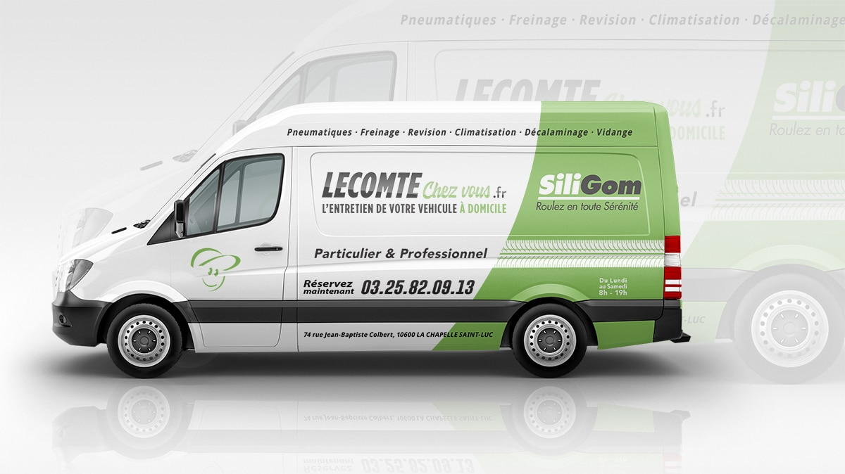 covering camion marquage